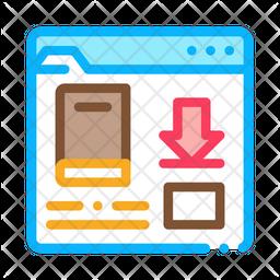 Book Download Folder Icon