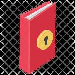 Book Lock Icon