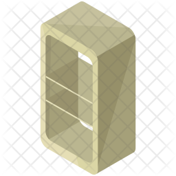 Book shelves Icon