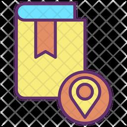 Book Shop Location Icon