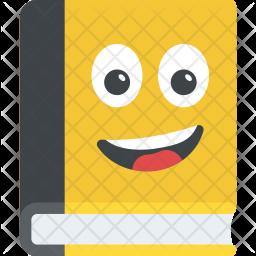 Book Smiley Icon