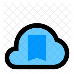 Bookmark Cloud Icon