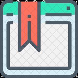 Bookmark site Icon