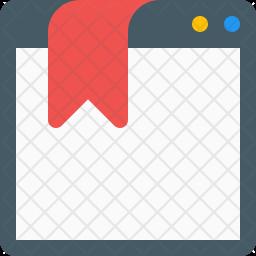 Bookmark Website Icon