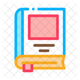 Bookmarked Book Icon