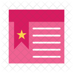 Bookmarked Icon