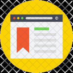 Bookmarking Icon
