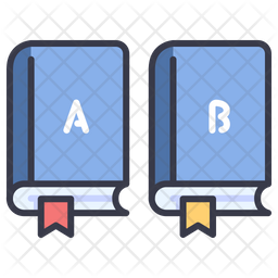 Books Category Icon Of Colored Outline Style Available In Svg Png Eps Ai Icon Fonts