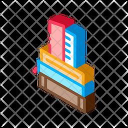 Books Stack Icon