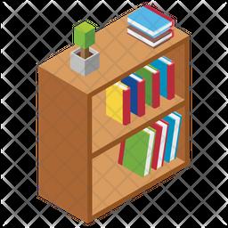 Bookshelf Icon
