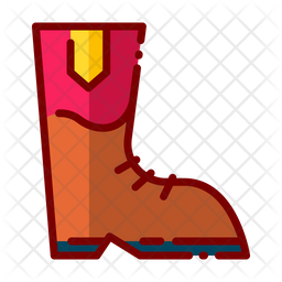 Boots Icon Of Colored Outline Style Available In Svg Png Eps Ai Icon Fonts