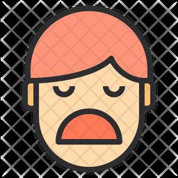Boring Emoji Icon