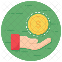 Borrow Flat Icon