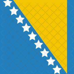 Bosnia Flag Icon