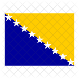 Bosnia and herzegovina Flag Icon