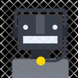 Bot Service Gradient Icon