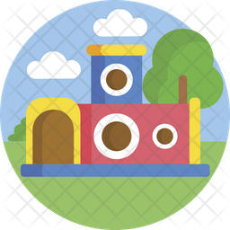 Bouncing Castle Icon