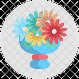 Bouquet Flower Icon