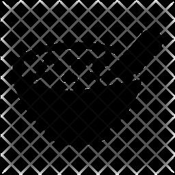 Bowl Glyph Icon