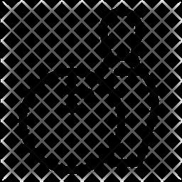 Bowling Line Icon