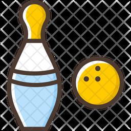 Bowling Pins Icon