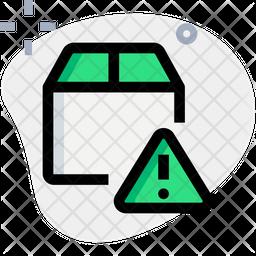 Box Warning Icon