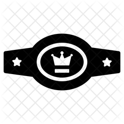 Boxing Belt Icon