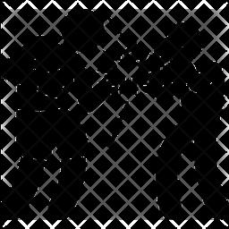 Boxing training Icon