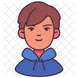 Boy Icon Of Colored Outline Style Available In Svg Png Eps Ai Icon Fonts
