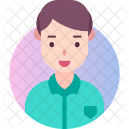 Boy Gradient Icon
