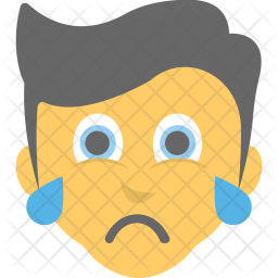 Boy Crying Icon