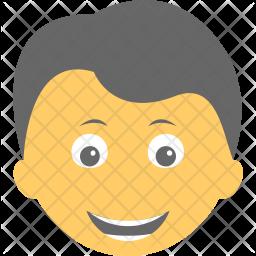Boy Laughing Icon