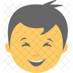 Boy Smiling Icon