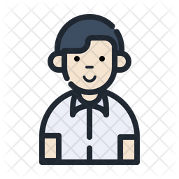 Boy Student Icon Of Colored Outline Style Available In Svg Png Eps Ai Icon Fonts