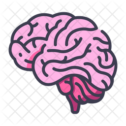 Brain Icon Of Colored Outline Style Available In Svg Png Eps Ai Icon Fonts