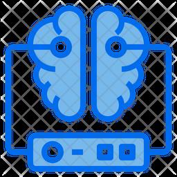Brain Dualtone Icon