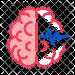 Brain Impulses Icon