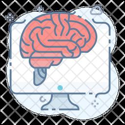 Brain Machine Interface Icon