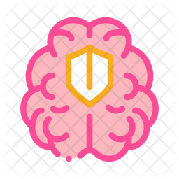 Brain Treatment Icon Of Colored Outline Style Available In Svg Png Eps Ai Icon Fonts