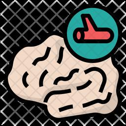Brain Stroke Icon