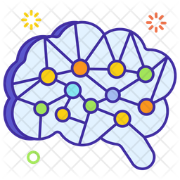 Brain Technology Icon