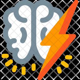Brainstorm Flat Icon