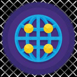 Branch Network Icon