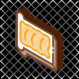 Bread Butter Icon
