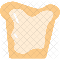 Bread Omlet Icon