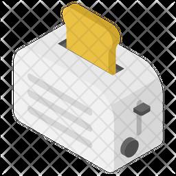 Bread Toaster Icon