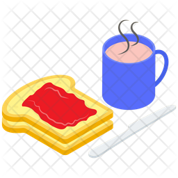 Breakfast Platter Vector Icon
