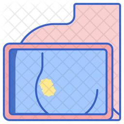 Breast Cancer Screening Icon