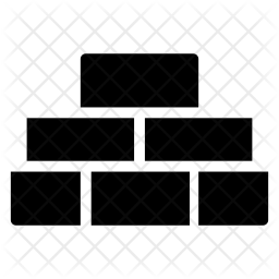 Bricks Glyph Icon