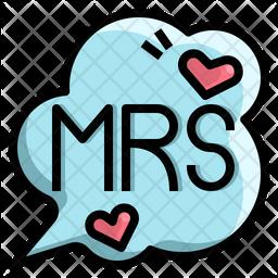 Bride message Icon